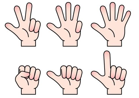 Hand finger icon 6
