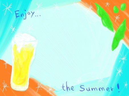 Summer beer frame