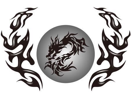 tribal-dragon-005