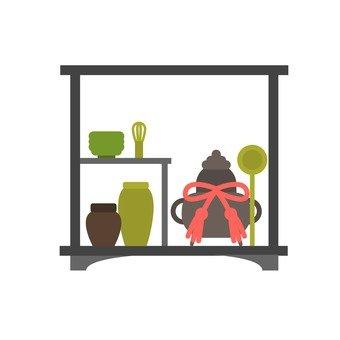 Tea ceremony · Chicken decoration
