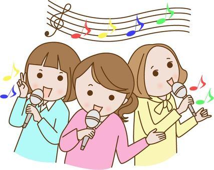노래방 여자 회