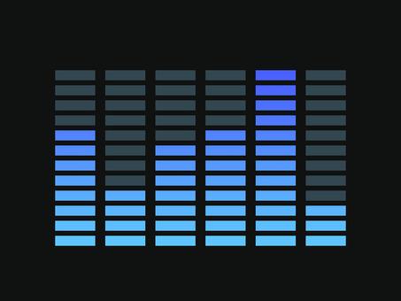 Equalizer blue