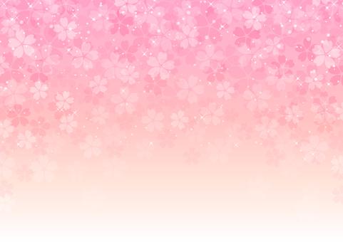 桜舞い散る背景