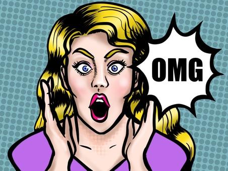 OMG 미국 만화 바람