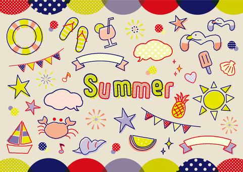 夏のモチーフいろいろ_C