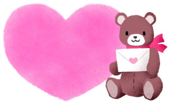 Heart Bear 3