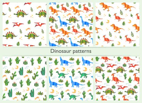 恐竜パターンセット