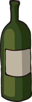 Empty bottle (wine)