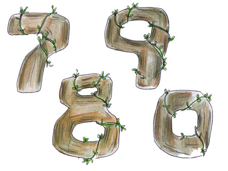 Digital, Wood (7890)