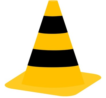 Color cone (construction) Tongari hat