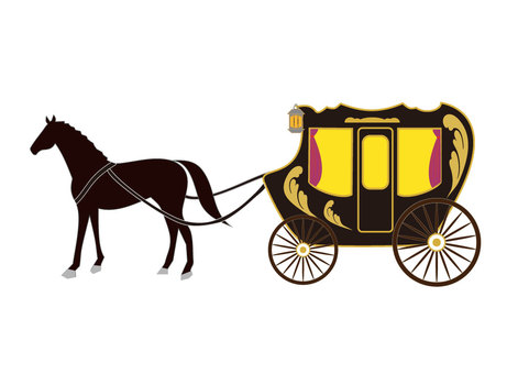 Carriage (royal style)