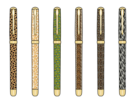 Fountain pen / animal