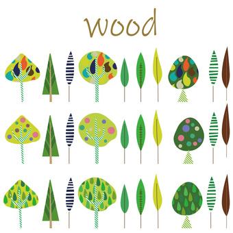 Nordic wind wood