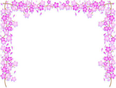 벚꽃 가지와 꽃 봉오리 02