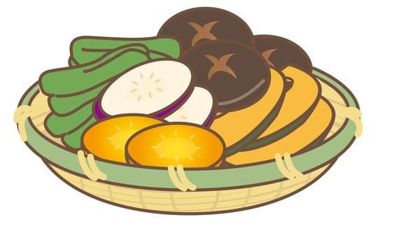 BBQ vegetable basket