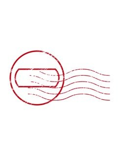 Stamp postmarked