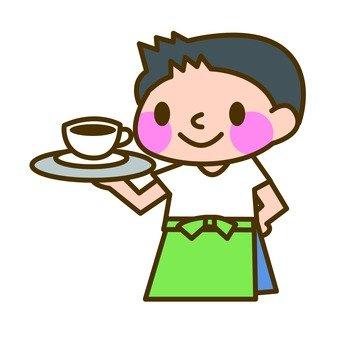 A waiter