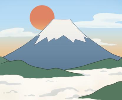 Fuji and Asahi