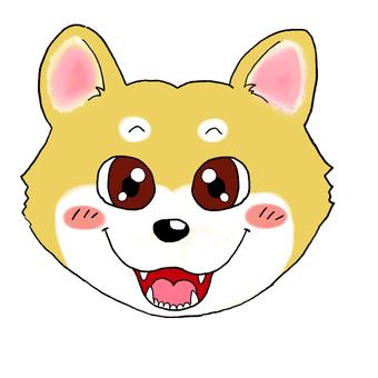 Shiba Inu (face)