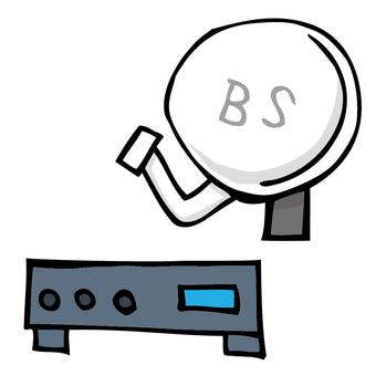 BS天線•調諧器