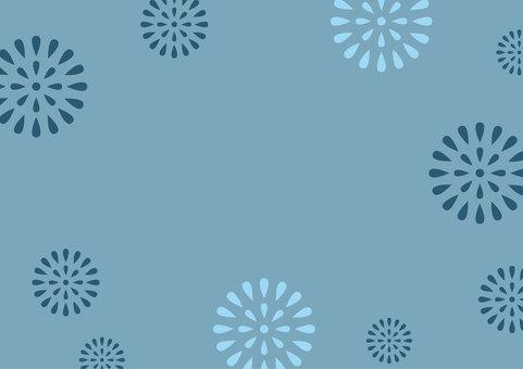 Background Fireworks Blue