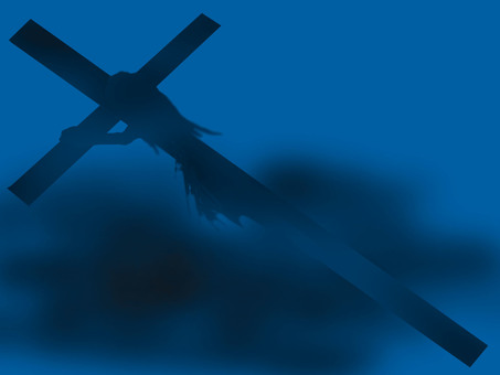 Jesus who carries the cross