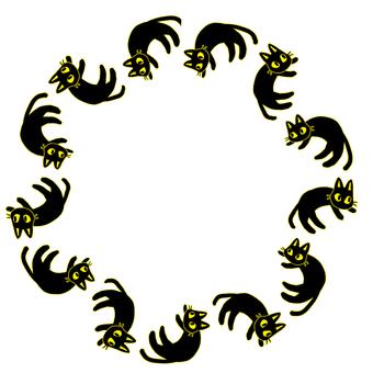 Black Cat Circle 3