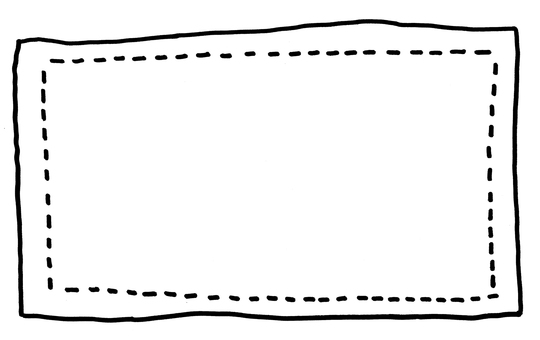 Hand drawn frame 1