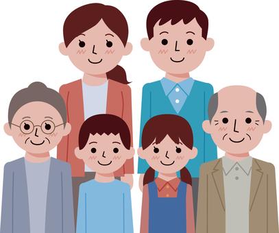 6 명 가족 -2