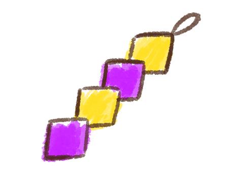 Crayon series [Tanabata decoration 2]