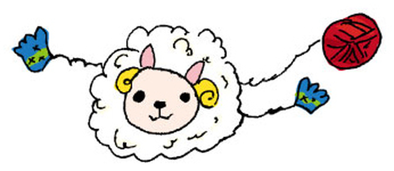 Kurukuru sheep knit