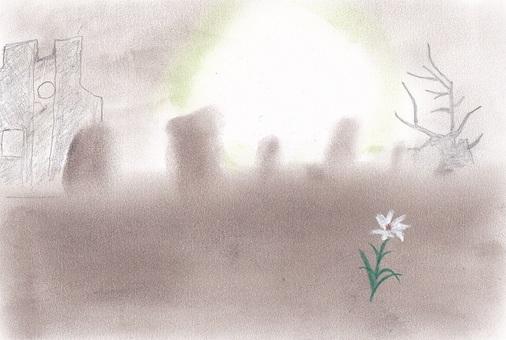 The desolate land
