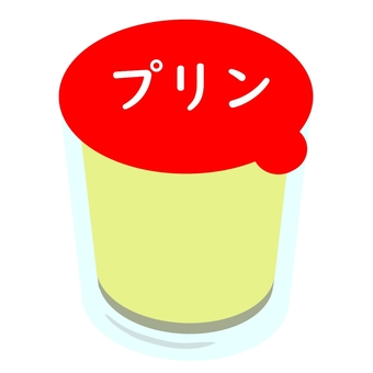 Pudding in a cup