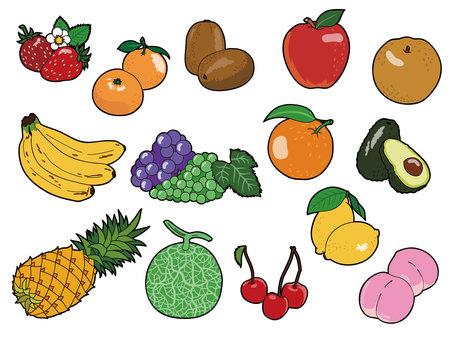 Fruit set 1
