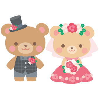 Wedding bear 1