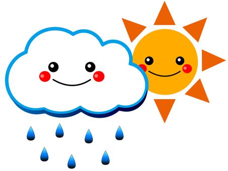 雨云和太阳