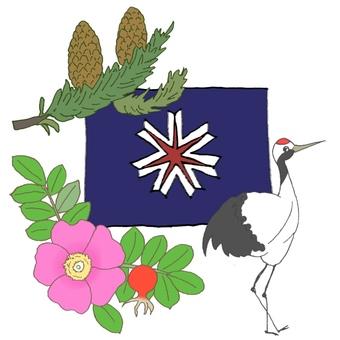 Symbol summary of Hokkaido