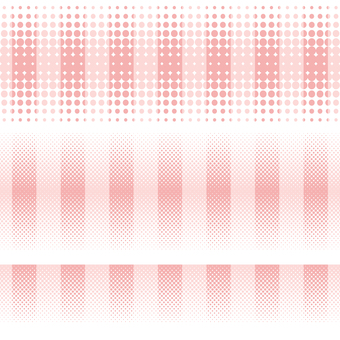 ドットグラデーション7・ピンク