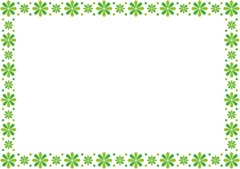 프레임 - 꽃 꽃