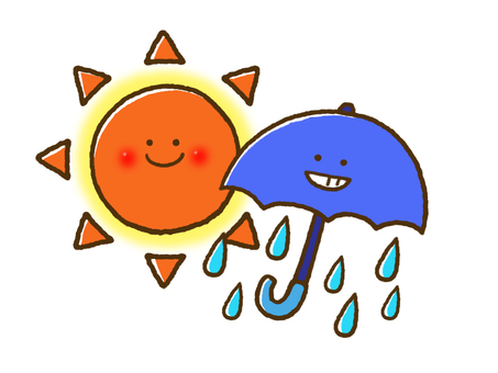 (Weather) Rain Sometimes sunny