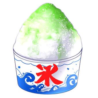 Oyster ice Melon taste