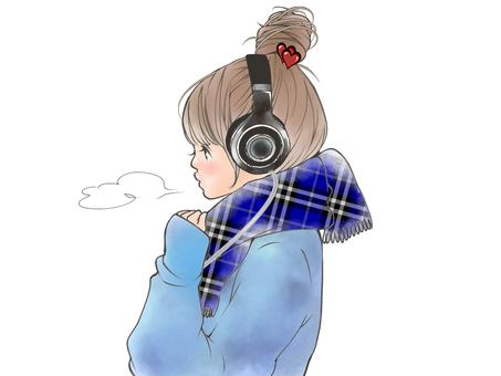 Headphone girls