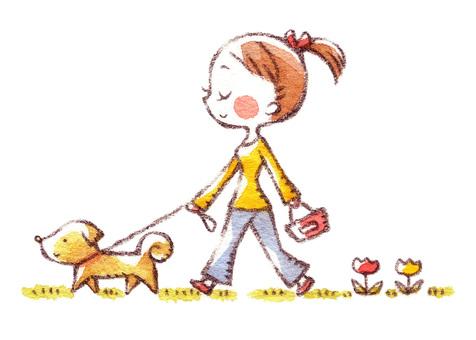 Dog's walk 1