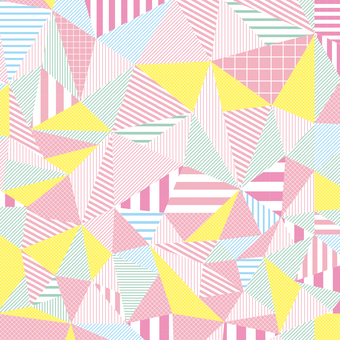 Stripe geometric pattern background Spring