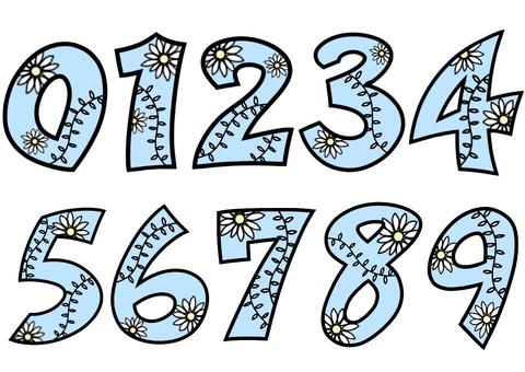 数字ボタニカル