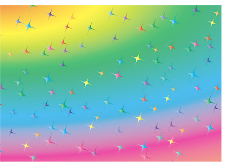 Rainbow-colored background