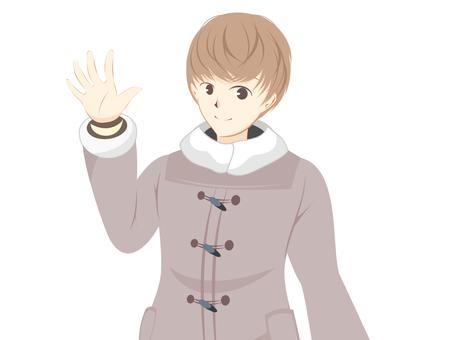 Duffle coat male