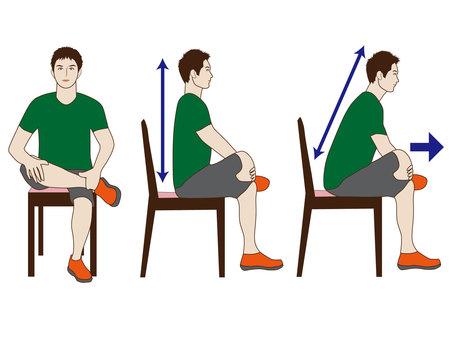 Butt stretch