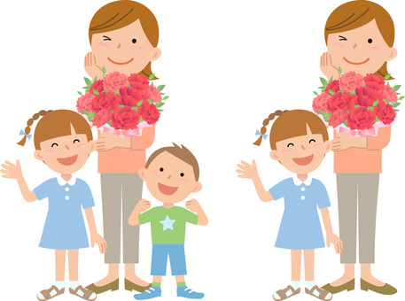 70409, Mother's Day, parent and child