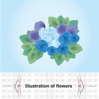 꽃 블루 로즈